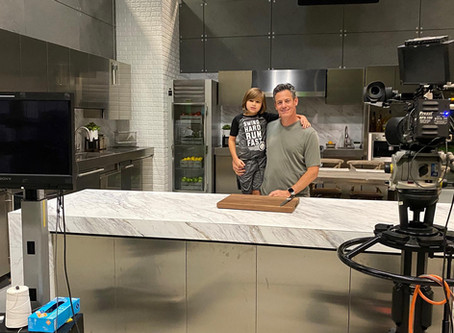 Fun commercial shoot with my son Ethan