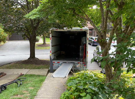 Time for Change - Moving Truck is Almost Empty!!