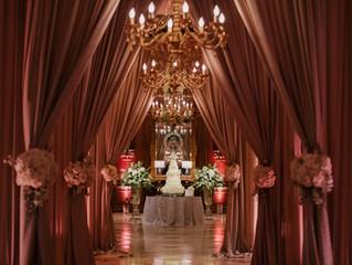 Decor Design for a December Wedding at JCC