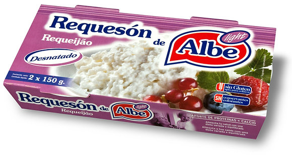 REQUESON LIGHT PACK2X150G ALBE