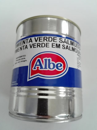 PIMIENTA VERDE SALM. 500G ALBE