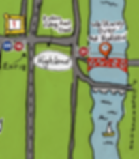 The Gunks Art Trail Map, Highland