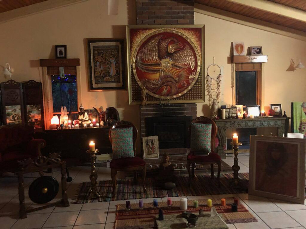 TWIN FLAME TEMPLE
