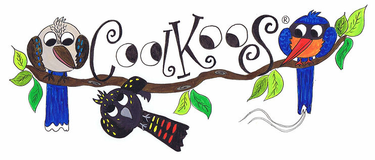 Coolkoos - Australian Bird Illustrations / cartoons by Jacqui Stewart Artist and Illustrator Australia.