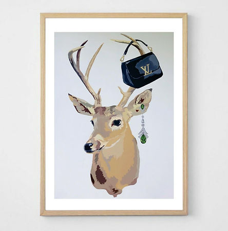 MY DEER LOUIS VUITTON Jacqui Stewart Pri