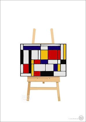 I Love Mondrian