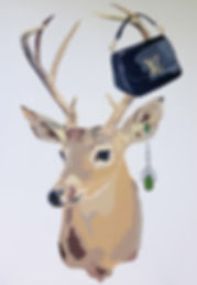 My Deer Louis Vuitton by Jacqui Stewart