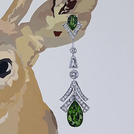 My Deer Louis Vuitton by Jacqui Stewart