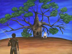 Jacqui Stewart Prison Boab Tree; Chainless