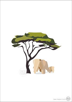 Eames Elephant Stroll
