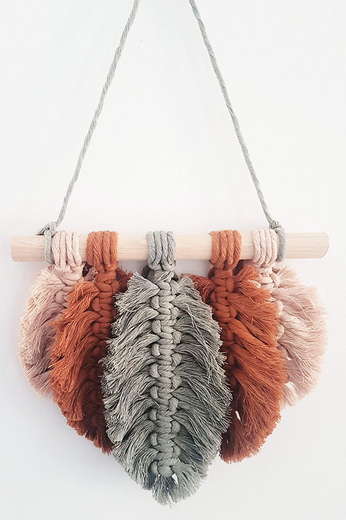 Bella Feather Wall Hanging