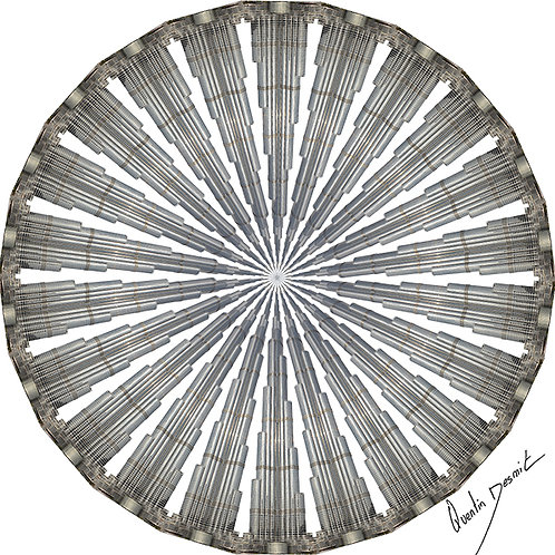 """The Wheel Of Tolerance"" Burj Khalifa"