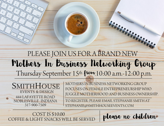 Mothers In Business Networking Group (and why I started it!)