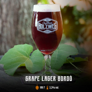 Grape Lager Bordô