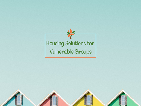 CODECA's Housing Intervention: Shelters for Vulnerable Groups