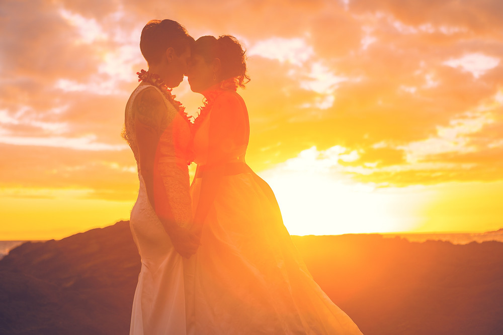 Holualoa Bay Hawaii Elopement Beach Wedding Kona Wedding Officiant
