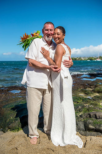 Kona Wedding Officiant Big Island Beach