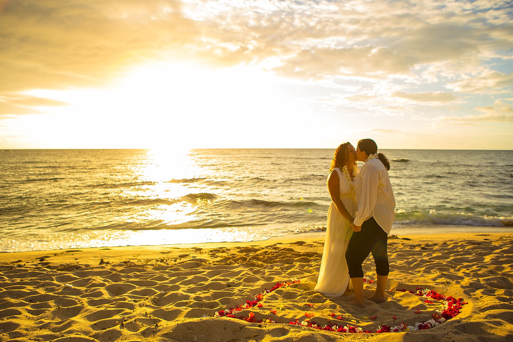 Kukio Beach, Big Island Hawaii, Kona Wedding Officiant Recommended Beach Wedding Location