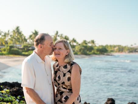 Tricia + Dale's Kuki`o Beach Elopement #hawaiiwedding