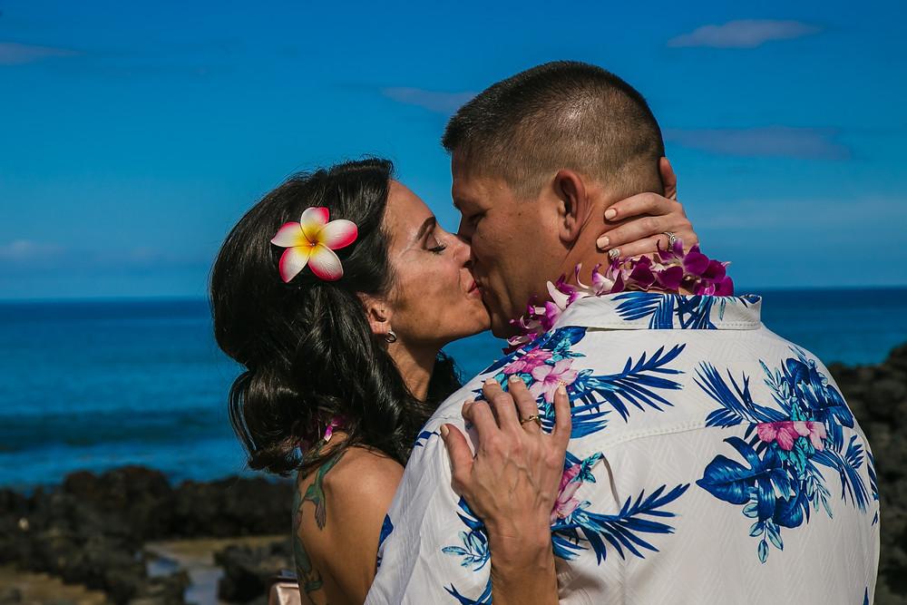 Kona Wedding Officiant Big Island Hawaii Elopement Hapuna Beach