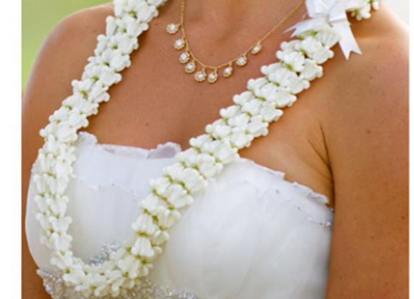 Double Strand Crown Flower Lei