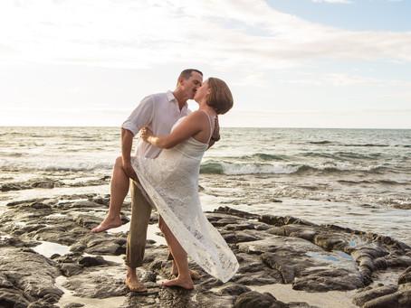 Bonnie & Ken's Beautiful Kukio Beach Wedding