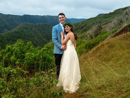 Leanne + Braeden's Pololu Valley Adventure Elopement Wedding