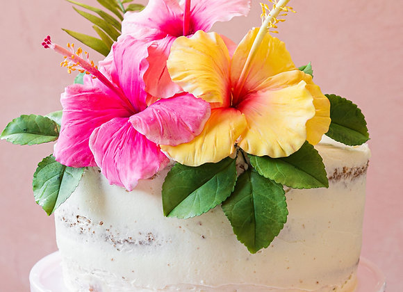 """Single Tier Round 6"""" Wedding Cake (6-10)"""