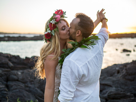 Paige & Bryson's Kikaua Point Family Wedding