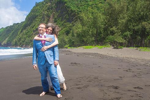 Waipio Valley Adventure Elopement Kona Wedding Officiant Big Island Hawaii