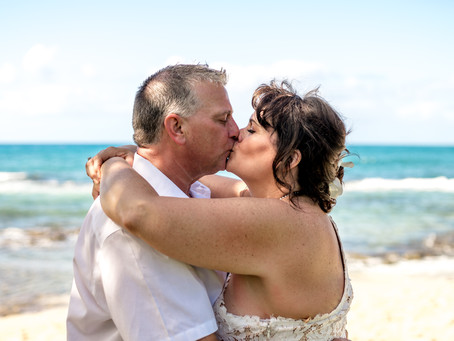 Kim + Dale's Big Island Elopement at Kukio Beach