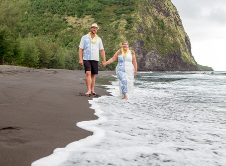 An ADVENTURE ELOPEMENT in Waipio Valley - Hawaii Big Island:  10 Things You Might Want To Know