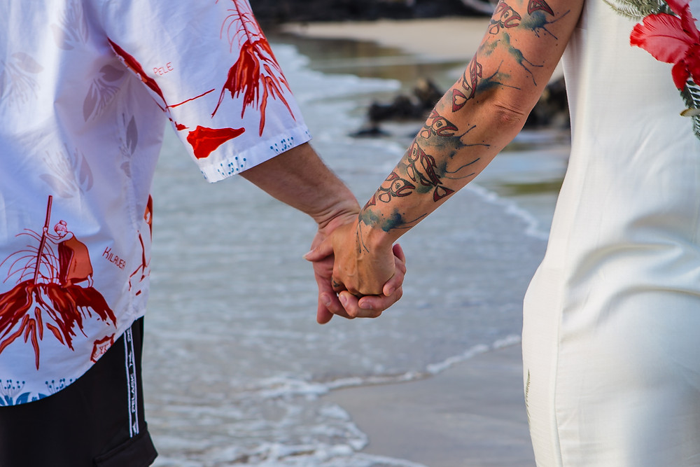 Big Island Beach Weddings Hawaii - Kona Wedding Officiant