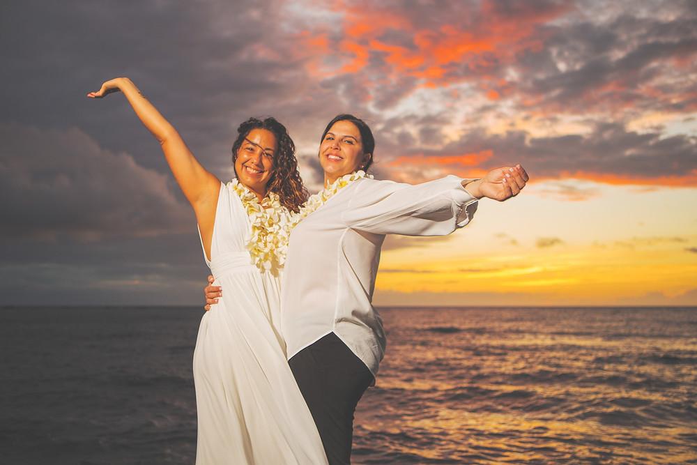 Kukio Beach Elopement Wedding Big Island Hawaii Kona Wedding Officiant
