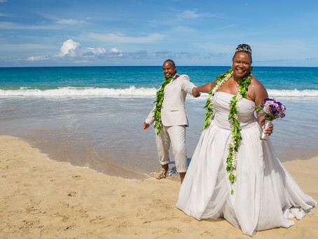 Sabrina & Lanetta's Hapuna Beach Wedding