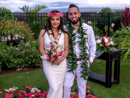 Yesenia + Luis's Waikoloa Wedding #anaehoomalu