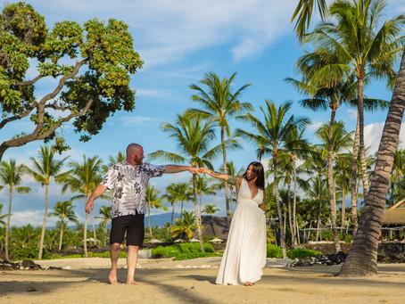 Jaime & Jesse's Just Beautiful Kikaua Point Park Beach Wedding