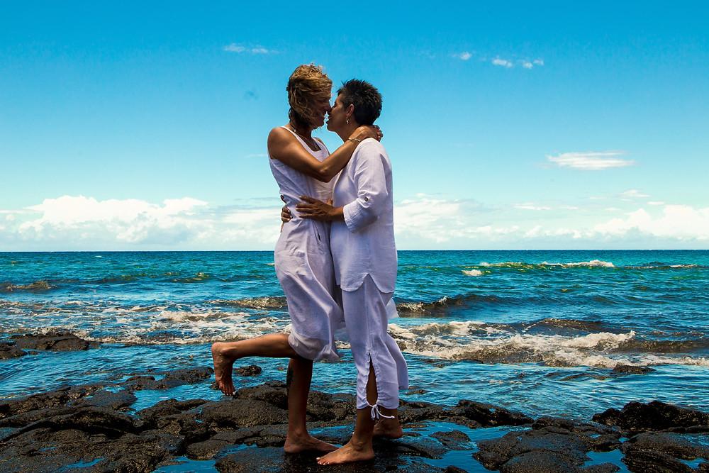 Kona Wedding Officiant Hawaii Elopement Beach Wedding