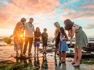 Alisha + Dan's Ala Carte Kuki`o Beach Wedding #hawaiiweddingpackages