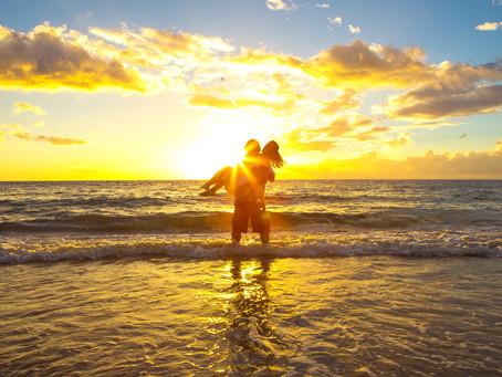 Heidi & Tim's Secret Beach Wedding