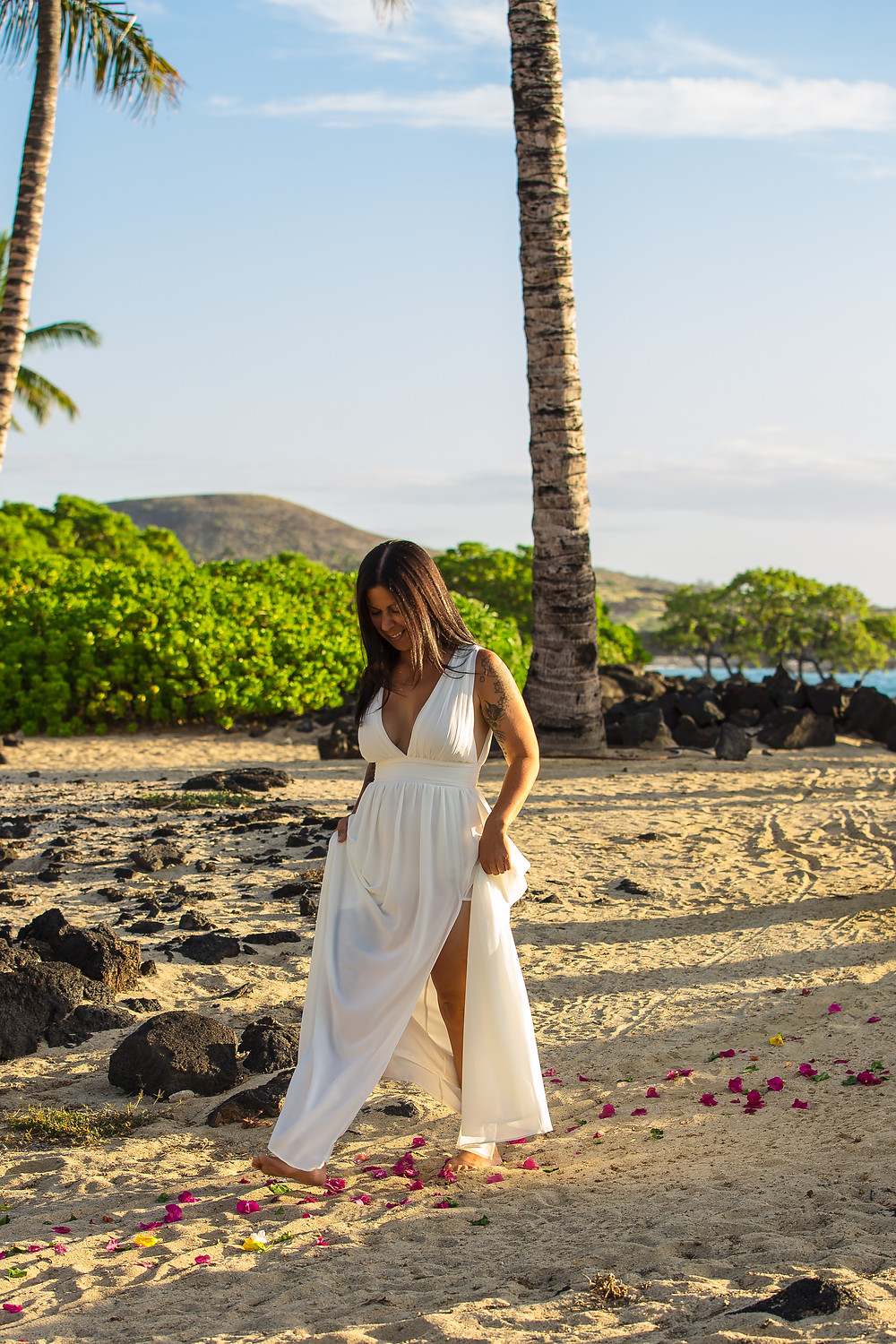 Kikaua Point Park Beach Wedding Kona Wedding Officiant