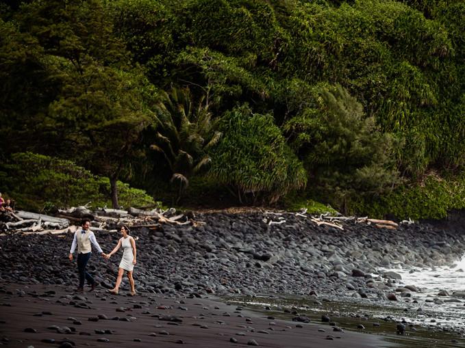 Big Island Hawaii Pololu Valley Elopemen