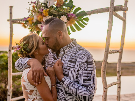 Dawn + Kurt's Private Ceremony #marriedinhawaii