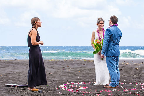 Hawaii Waipio Valley Elopement Big Island Adventure Elopements Kona Wedding Officiant