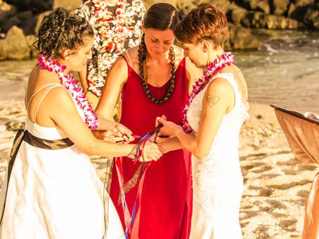 Hand-Binding Ceremony