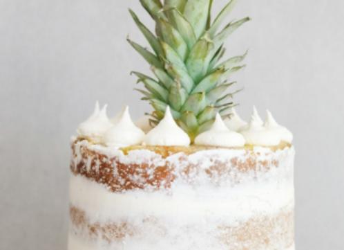 """Single Tier Round 10"""" Wedding Cake (25-35)"""