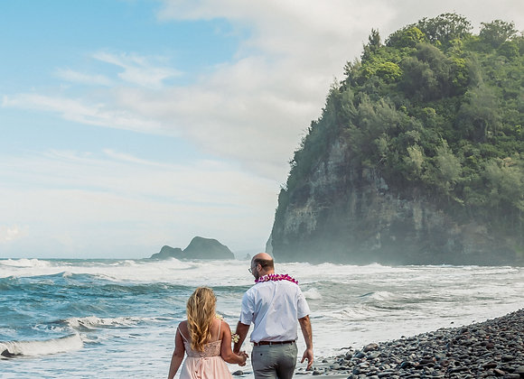 Hawaii Escape Package -Adventure Weddings Only