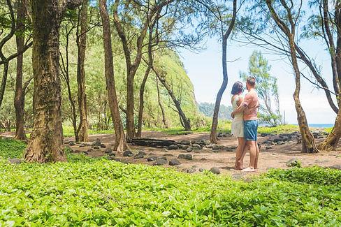 Hawaii Pololu Valley Elopement Big Island Adventure Elopements Kona Wedding Officiant
