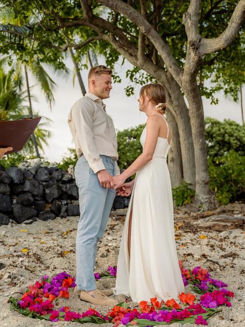 Kona Wedding Officiant® Big Island Elopement Packages Hawaii Kona Big Island Beach Weddings