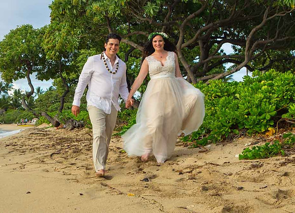 Videography - 1 HOUR - BEACH + PRIVATE VENUE WEDDINGS ONLY